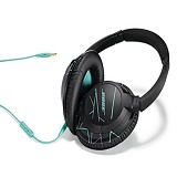 BOSE Soundtrue Around-Ear [626238-0040] - Black/Mint - Headphone Full Size